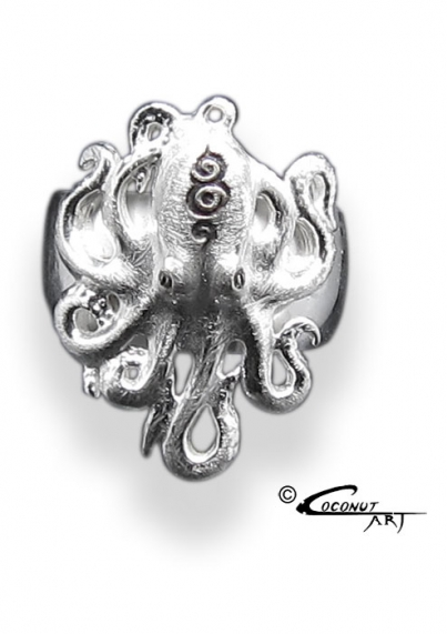 Ring 'Octopus' Icematt