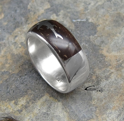 "Ring ""Shark-Inlay"""